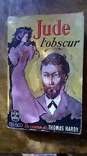Jude L'obscure by Thomas Hardy, French language paperback Le Livre de Poche,1957