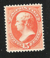 U.S. Scott 189 Webster red orange MNH 15c stamp.