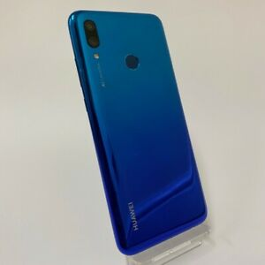 HUAWEI P SMART (2019) 64GB - UNLOCKED - Aurora Blue / Black - Smartphone Mobile