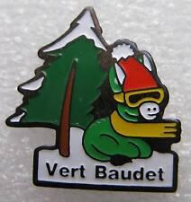 Pin's Vert Baudet petit Ane vert Avec cache nez Bonnet #630