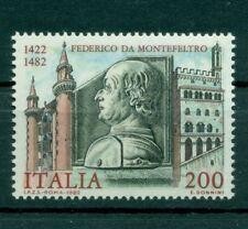 Italia Repubblica 1982 - B.1714 - Federico da Montefeltro