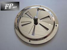 Aérateur réglable grille inox 316 Diamètre 102 MM Ref AE211