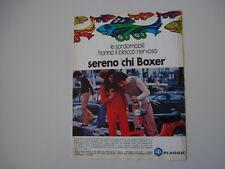 advertising Pubblicità 1973 PIAGGIO BOXER 2