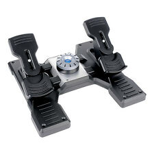 Saitek Pro Flight Rudder Pedals PZ35 for Flight Simulation