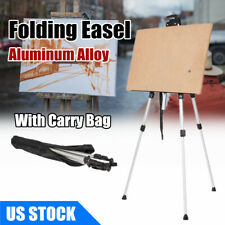 Aluminium Alloy Artist Folding Painting Easel Tripod Display Stand w/Carry Bag