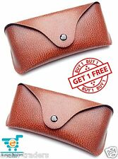 COMBO of fine leather case||cover||pouch for sunglasses||spectacles||eyewear