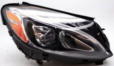 OEM Mercedes-Benz C300 C350e C400 C450 C63 AMG Right Side LED Headlamp Tab Chip