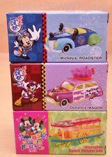 TOMICA JAPAN 2015 Tokyo Disneyland SUMMER FESTIVAL MICKEY's ROADSTER DONALD 1SET