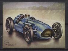 Talbot-Lago GP 4.5 L Racing Car 1950 Vintage 1950s Dutch Trading Card No.170
