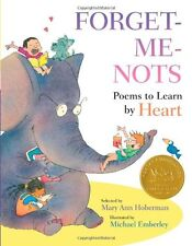 Forget-Me-Nots: Poems to Learn by Heart by Mary Ann Hoberman
