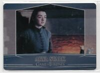 Game of Thrones Season 7 VALYRIAN STEEL METAL CASE TOPPER CARD 7A / ARYA STARK