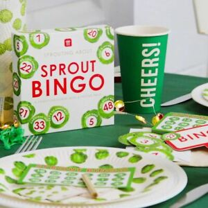Sprout Bingo Game | Traditional Christmas Party Board Toy Favours