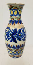 Antique Vintage Hungarian Hungary Majolica Maiolica Vase Pottery