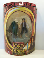 Lord Of The Rings The Two Towers Frodo Light Up Sting ToyBiz 2002 MOC