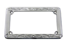 License Plate Frame Flame Style For Harley-Davidson