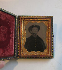 Original Tintype Civil War Soldier Union US Military