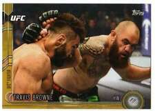 2015 Topps UFC Chronicles Gold Parallel /88 #98 Travis Browne