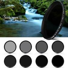ZOMEI 62mm Ultra Slim ND2-400 Fader Variable ND Filter for Dynamic Screen Falls