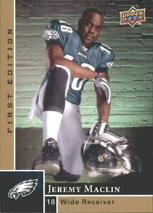 2009 Upper Deck First Edition Football Card #185 Jeremy Maclin Rookie