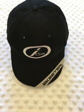 Skeeter i Class Hat Bass Fishing Hat Black and Silver