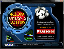 How To win the Arizona Fantasy 5 Lottery Equalizer Number Pick Software (CD)