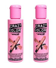Crazy Color Tinte Cabello 100ml-Oro Rosa x2
