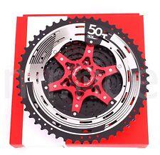 SunRace CSMX8 11-Speed 11-50T Cassette for MTB Bike Shimano/Sram 11Speed Black