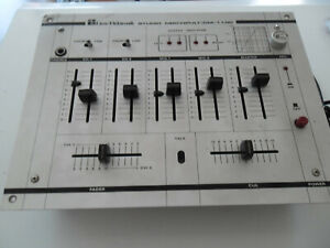 LIESE ELEKTRONIK STUDIO MISCHPULT /DM-1100 MIXER DJ ANNI '70,FUNZIONANTE