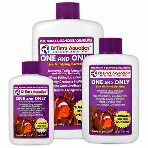 Dr Tims One & Only Life Filter Start Nitrifying Bacteria Marine Fish Tank Reef