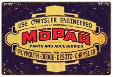 """Reproduction Mopar Engineered Parts Sign 12""""x18"""""""