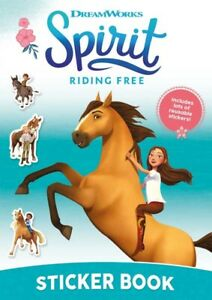 Spirit Sticker Book Reusable Character Stickers and Pictures for Children
