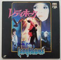 Matthew Broderick Signed Ladyhawke Laserdisc Japanese Import Actor LEGEND RAD