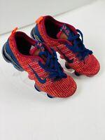 Nike Vapormax Flyknit 3 GS Men's 5Y / Women's 6.5 Red/Blue Shoes BQ5238-602 New