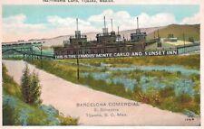 Tijuana,Baja Californria,Mexico,Monte Carlo,Casino,White Border,c.1930s