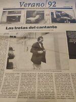 Julio Iglesias. 1992.