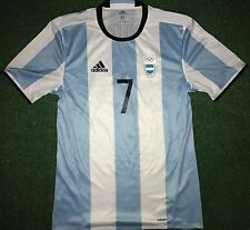 Argentina Pavon Olympic Games 2016 Authentic Match Worn Shirt