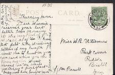 Family History Ancestor Postcard- Uttermare - Park Corner,Poulton, Bristol RF308