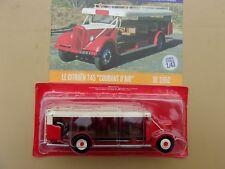 n° 79 CITROEN T45 Courant d'Air année 1952 Autobus et Autocar du Monde 1/43 neuf