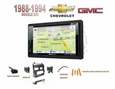 1988-1994 CHEVY GMC SUV/ Full Size Trucks Car Stereo Kit SIRIUS XM READY GPS DVD
