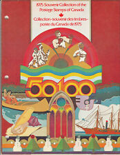 "Canada Original Envelope Scott #18 Souvenir Book of 1975  ""Annual Collections"""