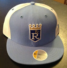 Kansas City Royals NEW ERA 59FIFTY Fitted Hat Cooperstown Collection Size 7 1/2