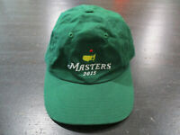 The Masters Strap Back Hat Cap Green Yellow Augusta National Golf Golfer Mens A1
