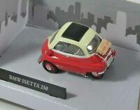 BMW, ISETTA, 250, BUBBLE CAR, MODEL, 1:43, SCALE, RED, Cararama