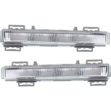 2X Daytime Running Light DRL Fog Lamp Fits Mercedes W166 ML350 ML400 X204 GLK350
