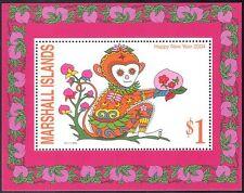 Marshall Islands 2004 YO Monkey/Greetings/Animals/Nature/Zodiac 1v m/s (n18195)