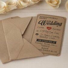 Articles de mariage marron, non personnalisés