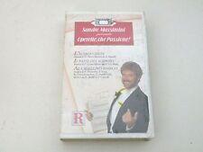 SANDRO MASSIMINI - OPERETTE, CHE PASSIONE - VHS CLASSICA PAL - NUOVA/NEW V33