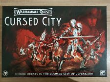 Warhammer Quest: Cursed City - Rules, Warscrolls, Dice, Tokens, Tiles - NO MINIS