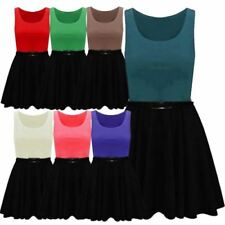 Scoop Neck Short Machine Washable Dresses for Women