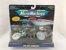 Micro Machines Star Trek Generations Enterprise Klingon Bird Of Prey 1994
